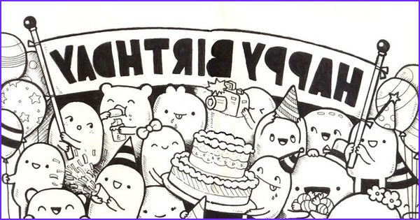 Birthday Coloring Page for Adults Best Of Collection Adult Coloring Page Happy Birthday 10
