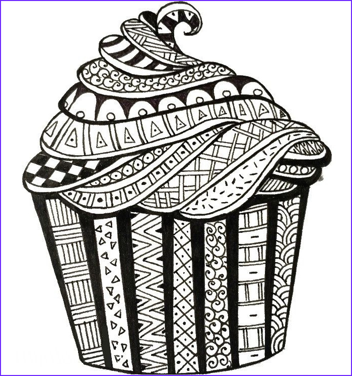 Birthday Coloring Page for Adults Luxury Photography Adult Coloring Page Happy Birthday Birthday Cake 3