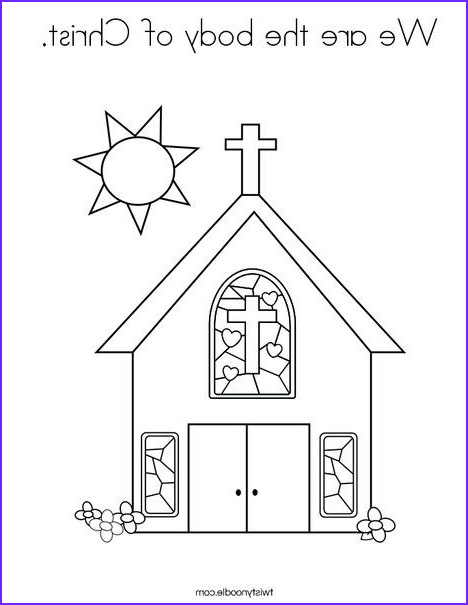 Body Of Christ Coloring Page Awesome Stock We are the Body Of Christ Coloring Page Twisty Noodle