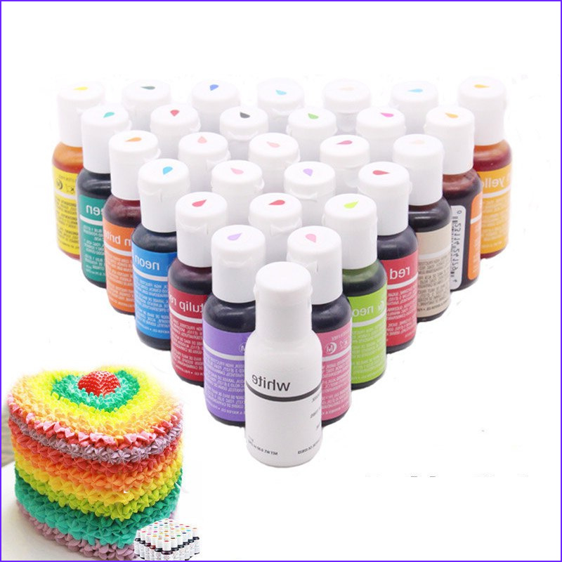Can You Color Fondant With Food Coloring Best Of Photos Cream Cake Fondant Baking Ingre Nts 30 Colors Cake Color