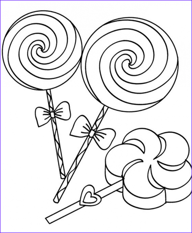 Candy Coloring Sheet Beautiful Collection 20 Free Printable Candy Coloring Pages Everfreecoloring