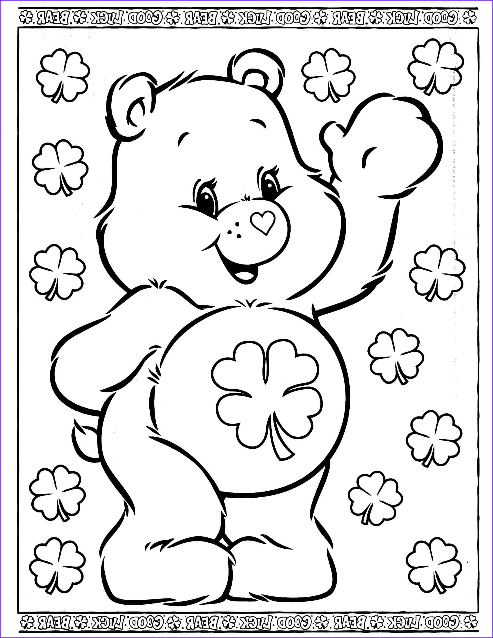 care bears coloring page 29