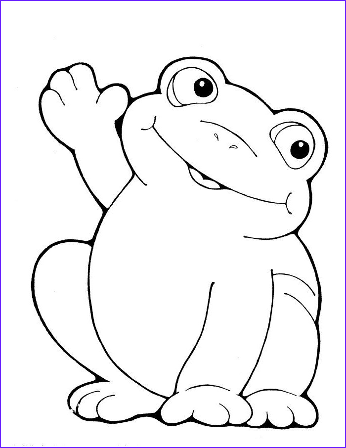 Cartoon Frog Coloring Page New Collection Colorwithfun Free Coloring Page