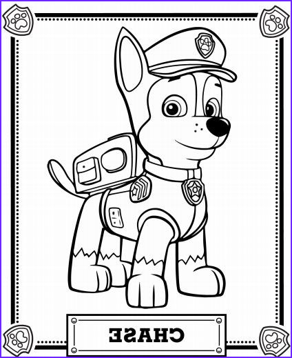 Chase Coloring Page Inspirational Collection Chase Is On The Case Activity Pack Paw Patrol