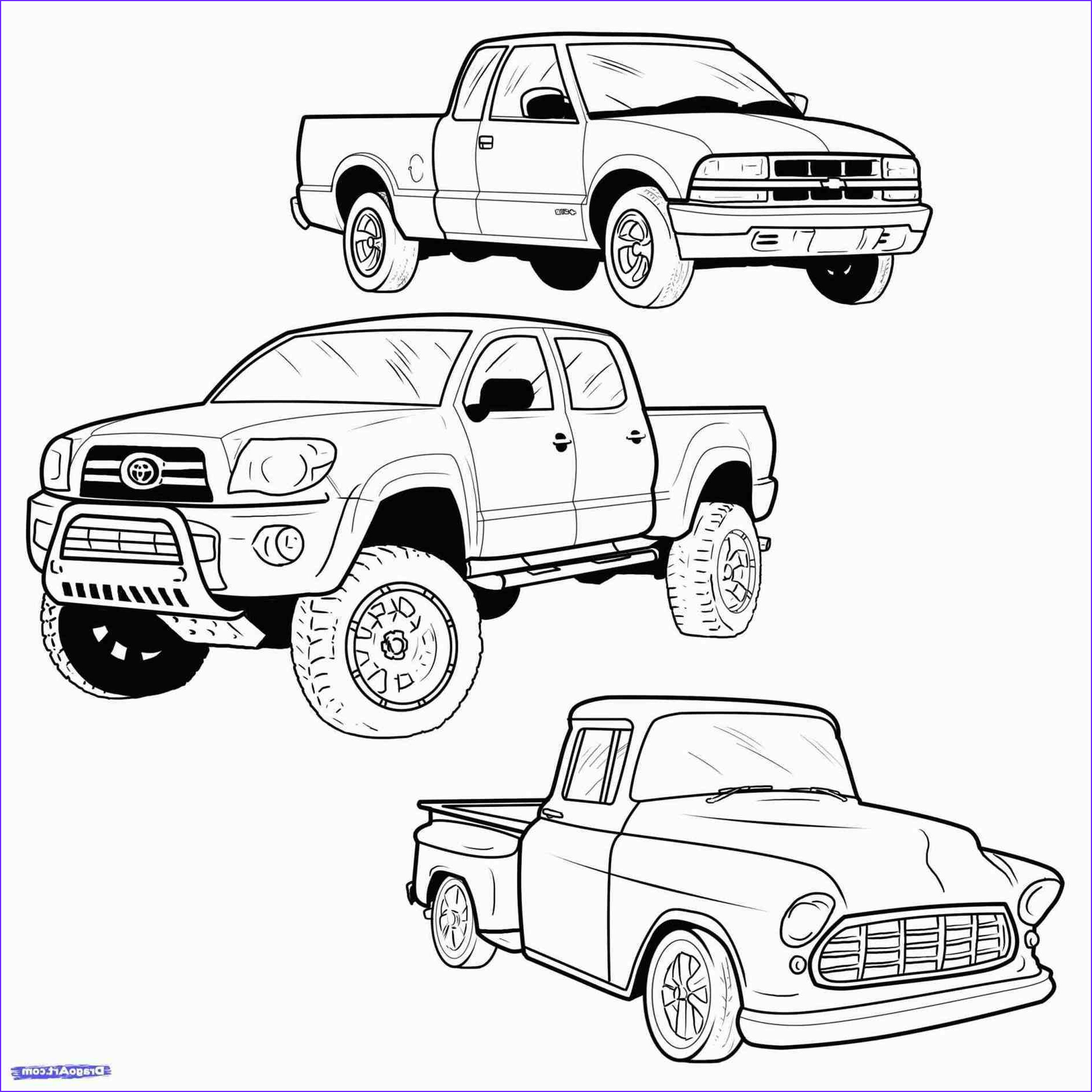 Chevy Silverado Coloring Page Elegant Photos Lifted Truck Coloring Pages at Getcolorings