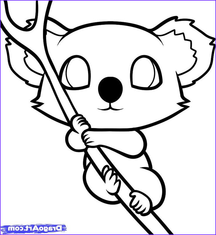 cute chibi animal coloring pages