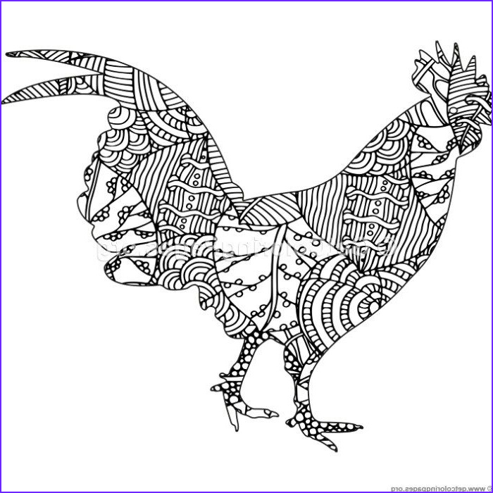 Chicken Coloring Page for Adults New Photos Free to Download Zentangle Chicken Coloring Pages