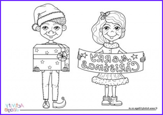 Children's Christmas Coloring Page Unique Collection Christmas Colouring Pages