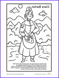 Clara Barton Coloring Page Inspirational Collection Mae Jemison Coloring Pages 2nd Grade