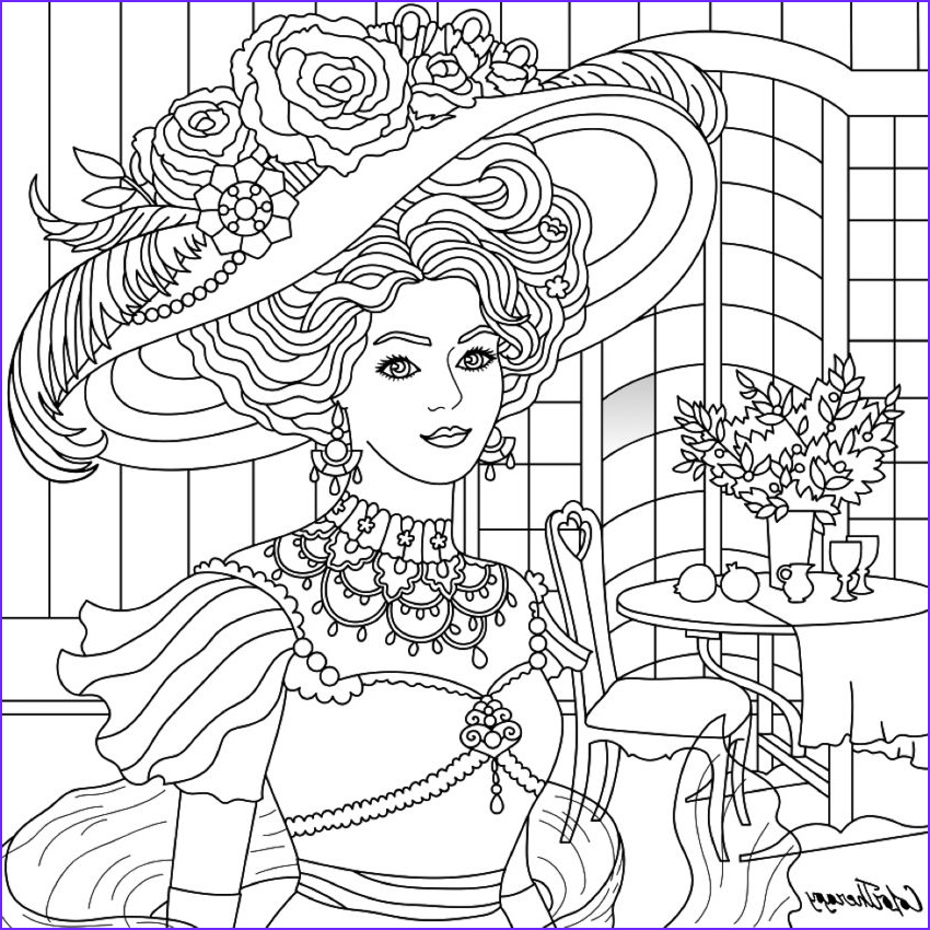 Color therapy Coloring Book Luxury Photos I Colored This Myself Using Color therapy App for iPhone