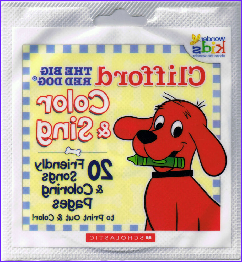 Coloring Book Cd Beautiful Stock 20 Clifford The Big Red Dog Color & Sing Friendly Songs