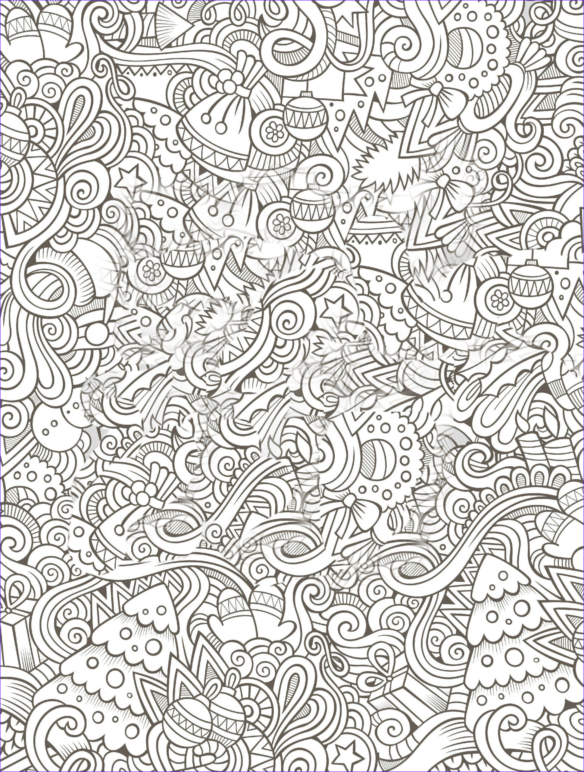 Coloring Book for Adults Christmas Luxury Image 10 Free Printable Holiday Adult Coloring Pages