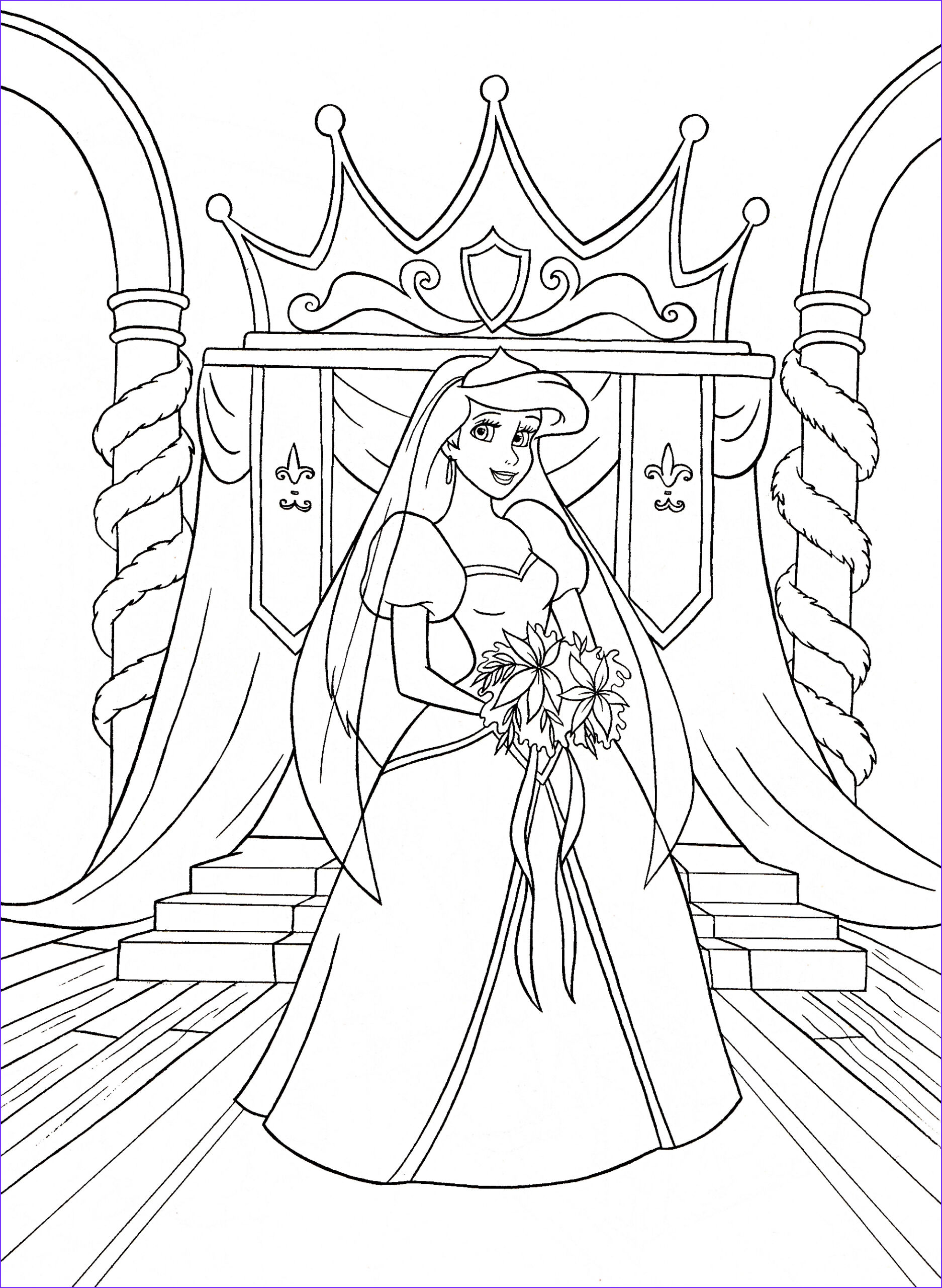 Coloring Book Ideas Beautiful Stock 48 Printable Disney Ariel Coloring Pages & Ariel Party