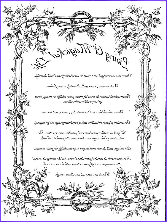 Coloring Book Of Shadows Best Of Gallery General Pagan Info