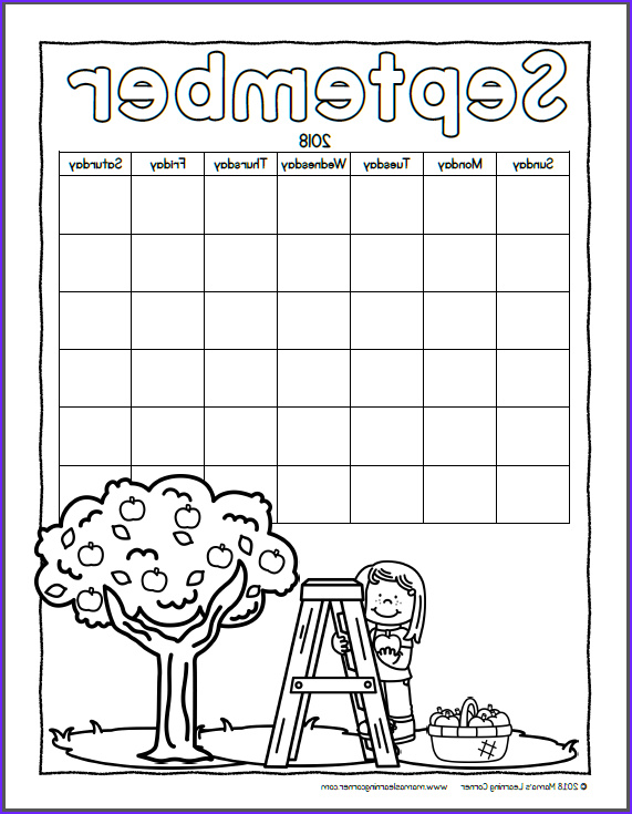Coloring Calendar 2018 Inspirational Photography Color Your Own Calendar 2018 Mamas Learning Corner