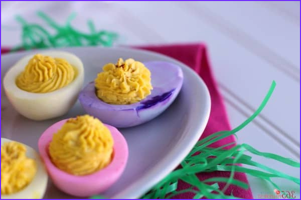Coloring Deviled Eggs New Photography Colored Deviled Eggs for Easter Simple and Seasonal