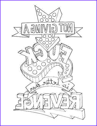 Coloring for Adults Swear Words Unique Photography Swear Word Coloring Page