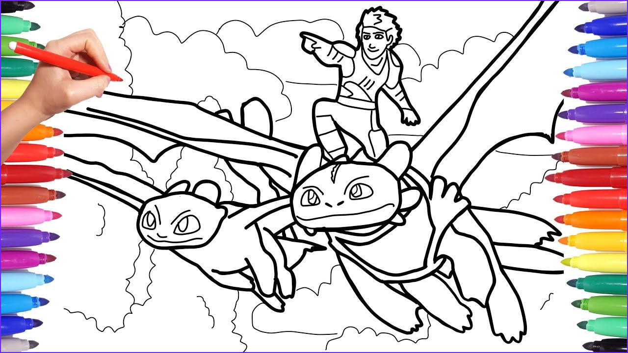 Coloring Page Dragons Cool Photos How to Train Your Dragon 3 Coloring Pages Coloring Hiccup