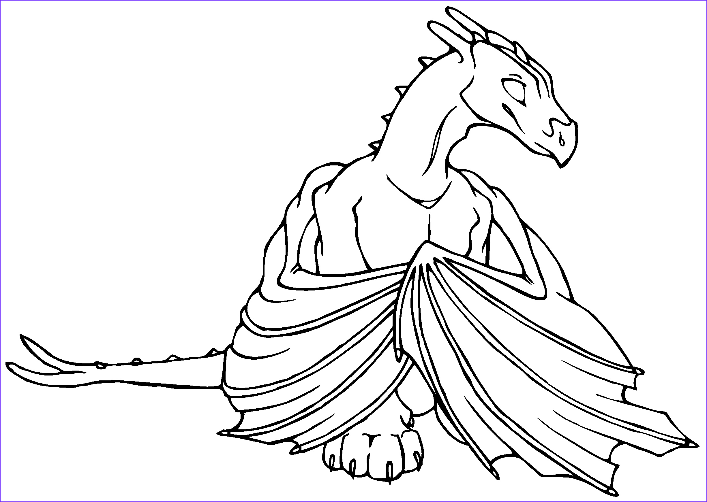 Coloring Page Dragons Inspirational Collection Dragon Coloring Book Xanadu Weyr