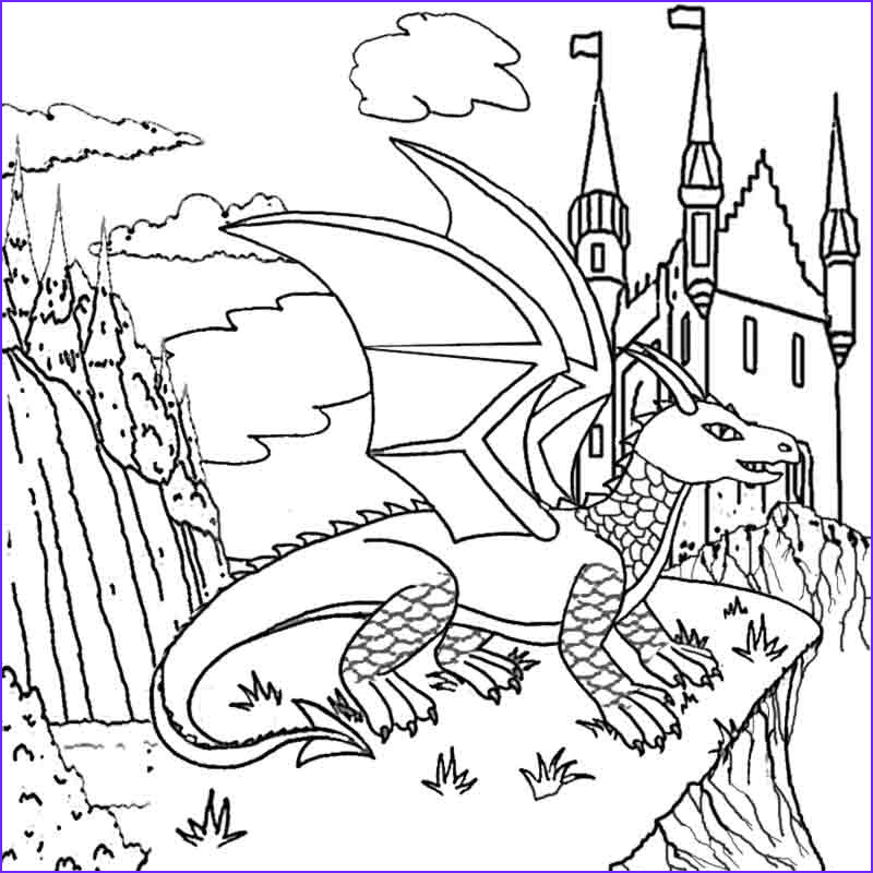 Coloring Page Dragons Luxury Photos June 2012