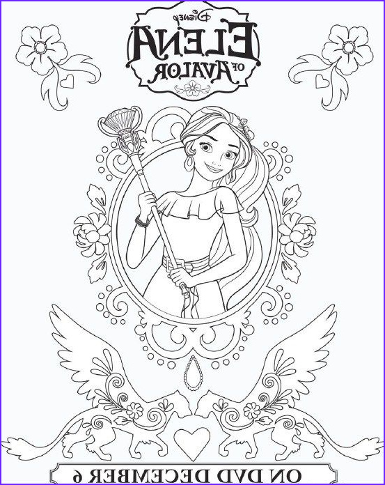 Coloring Page Elena Of Avalor New Image Elena Avalor Coloring Sheets & More