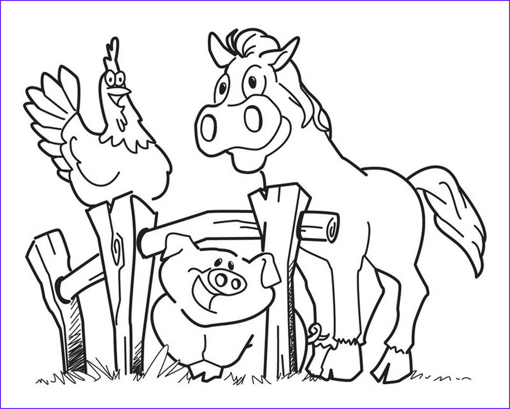 Coloring Page Farm Awesome Photography Diy Farm Crafts And Activities With 33 Farm Coloring
