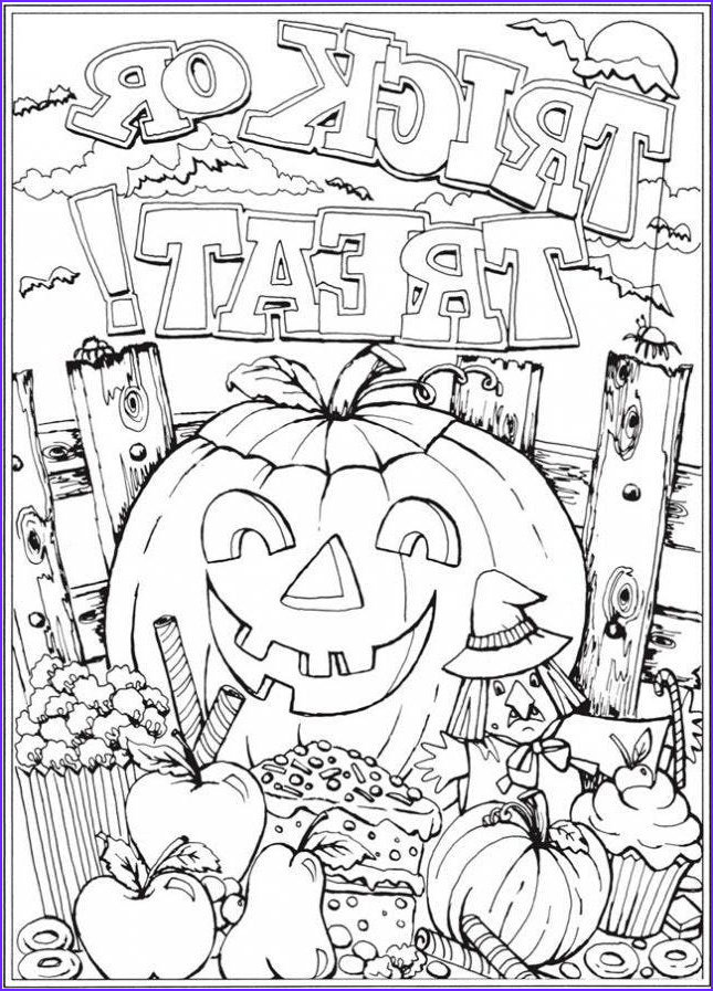 Coloring Page for Adults Halloween Cool Photos 12 Halloween Coloring Page Printables to Keep Kids and