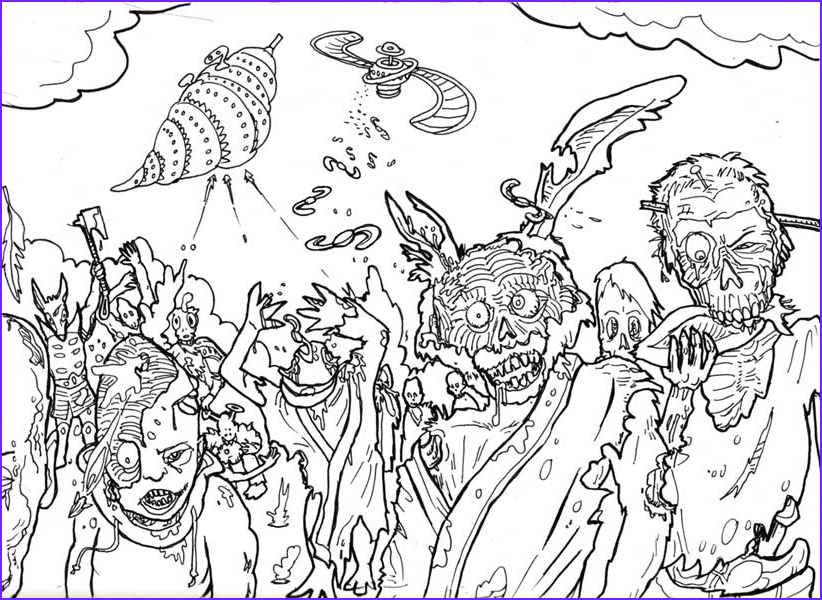 Coloring Page for Adults Halloween New Photography Halloween Colorings