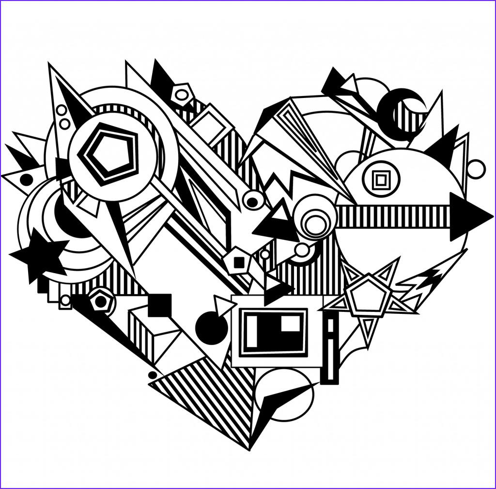 Coloring Page for Adults Hearts Inspirational Collection Hearts Coloring Pages for Adults Best Coloring Pages for