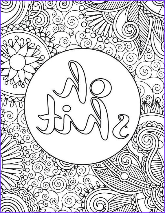 Coloring Page for Adults Printable Inspirational Collection Printable Adult Coloring Book Page Oh Shit