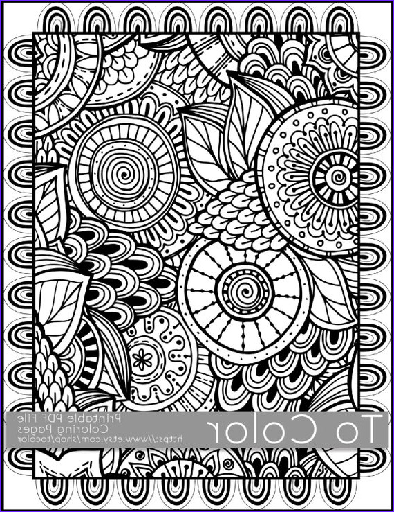 Coloring Page for Adults Printable Unique Photography Printable Coloring Pages for Adults All Over Doodle