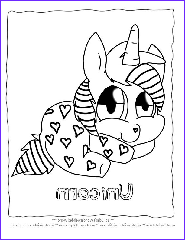 Coloring Page for Kids Unicorn Awesome Images Unicorn Cartoon Coloring Pages Free to Print at