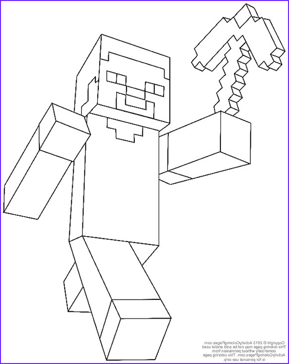 Coloring Page for Minecraft Cool Gallery 16 Minecraft Coloring Pages Pdf Psd Png