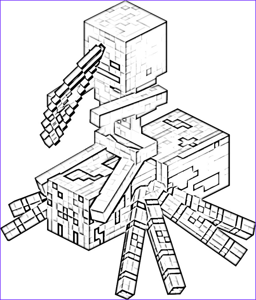 Coloring Page for Minecraft Elegant Stock Minecraft Coloring Pages Print them for Free 100