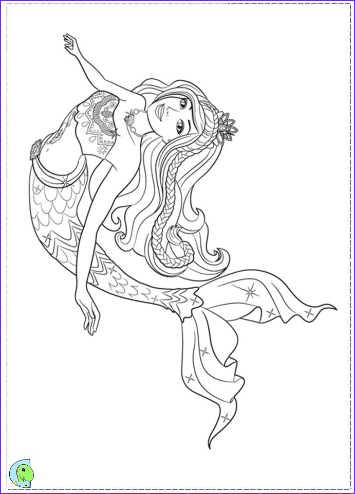 Coloring Page Mermaid Inspirational Photos Barbie In A Mermaid Tale Coloring Page Dinokids