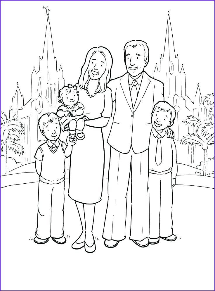 Coloring Page Of A Family Beautiful Collection Me and My Family Drawing at Getdrawings