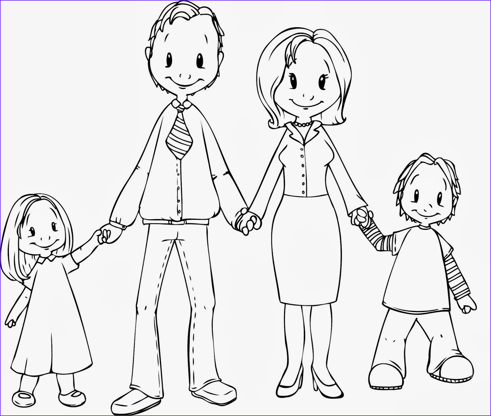 Coloring Page Of A Family Elegant Photos Simple English Speaking topics Introduce Yourself and