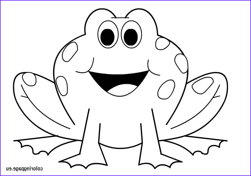 Coloring Page Of Frogs Inspirational Photos Frog Coloring Page – Coloring Page