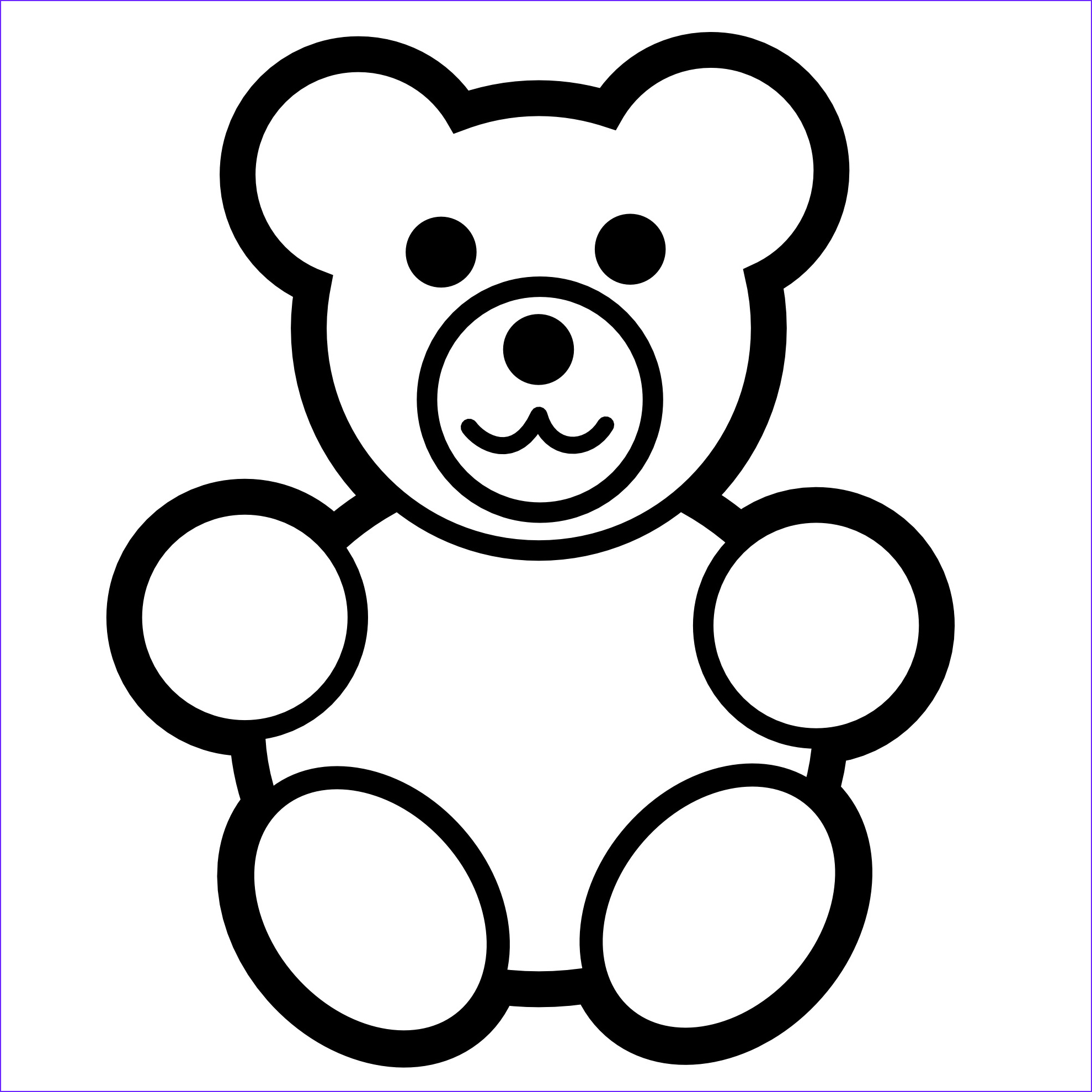 Coloring Page Of Teddy Bears Awesome Photos Free Printable Teddy Bear Coloring Pages for Kids