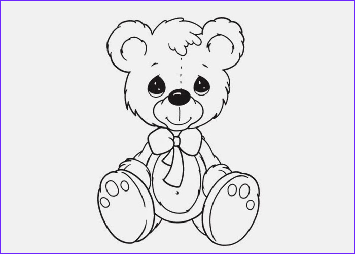 Coloring Page Of Teddy Bears Beautiful Collection Teddy Bear Coloring Pages