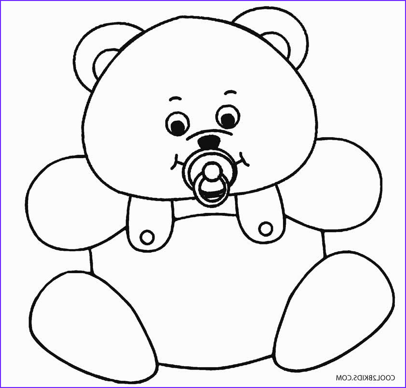 Coloring Page Of Teddy Bears New Photos Printable Teddy Bear Coloring Pages for Kids
