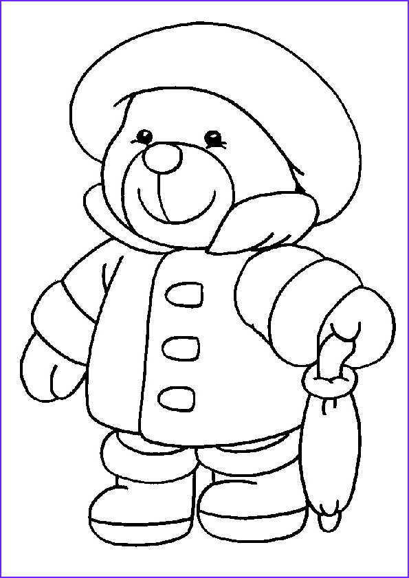 Coloring Page Of Teddy Bears Unique Gallery Free Printable Teddy Bear Coloring Pages – Technosamrat