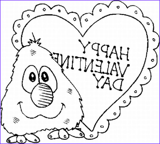 free printable valentine day coloring