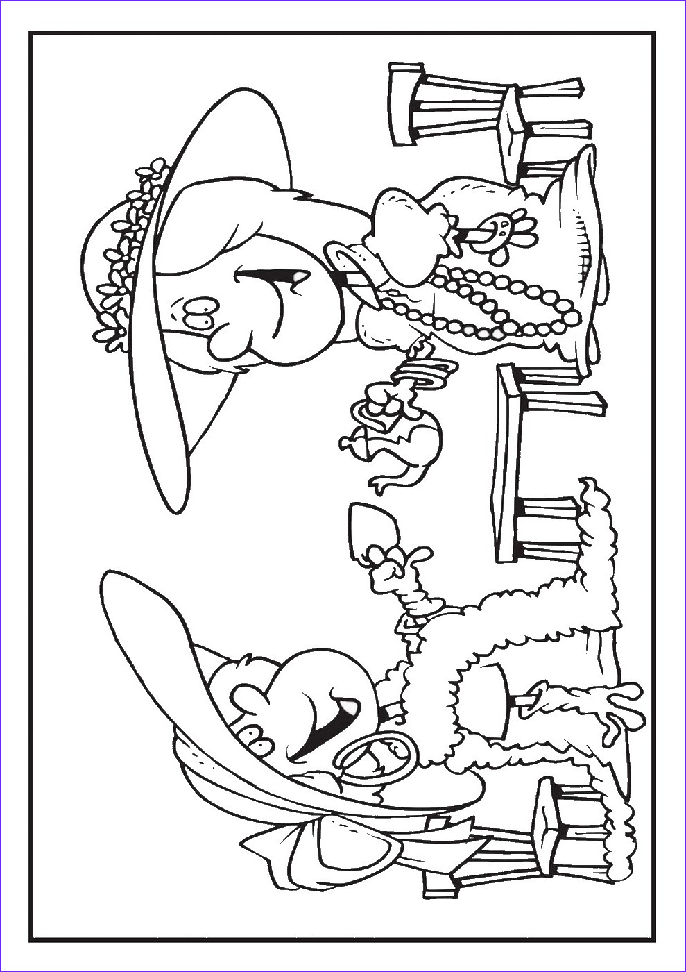 Coloring Page Party New Gallery Tea Party Coloring Pages
