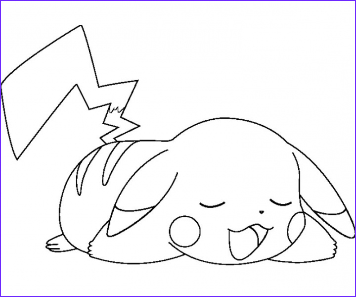 Coloring Page Pikachu Awesome Photos 20 Free Printable Pikachu Coloring Pages