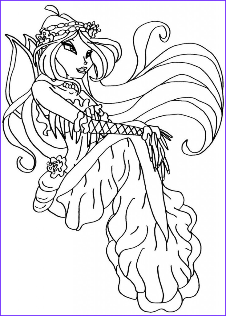 Coloring Page S New Photography Free Printable Winx Club Coloring Pages for Kids