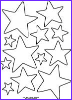 star pattern coloring