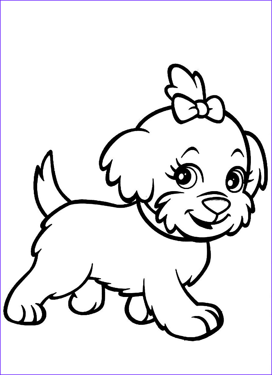 Coloring Picture Of A Dog Beautiful Gallery 2 Dog Color Page 4 Dog Coloring Pages