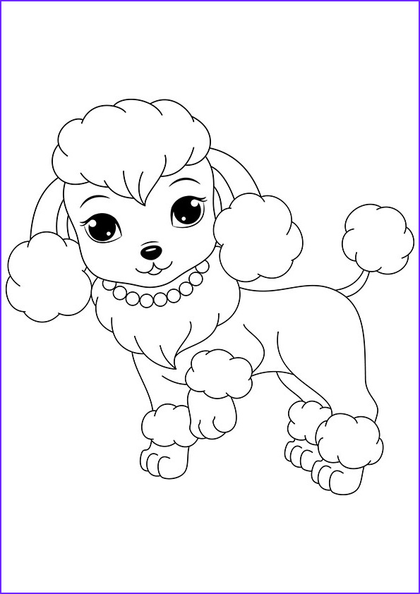 free printable dogs puppies coloring pages for kids