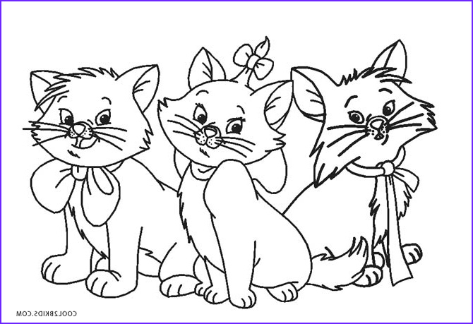 Coloring Picture Of Cats Cool Gallery Free Printable Cat Coloring Pages for Kids